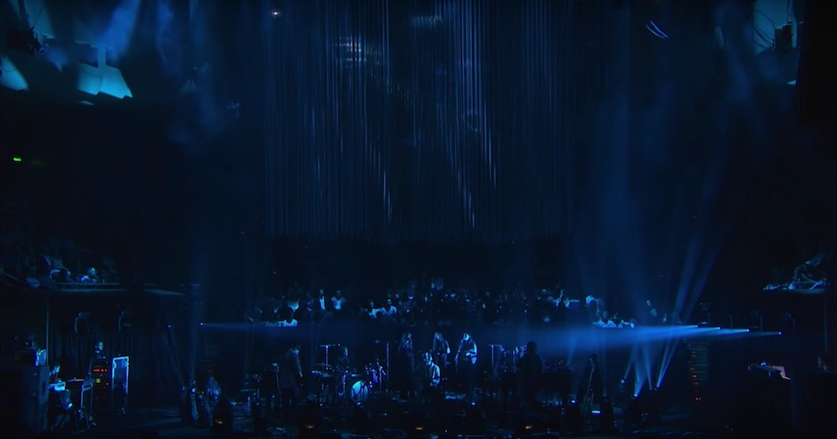 Watch Bon Iver serenade the Sydney Opera House for Vivid LIVE