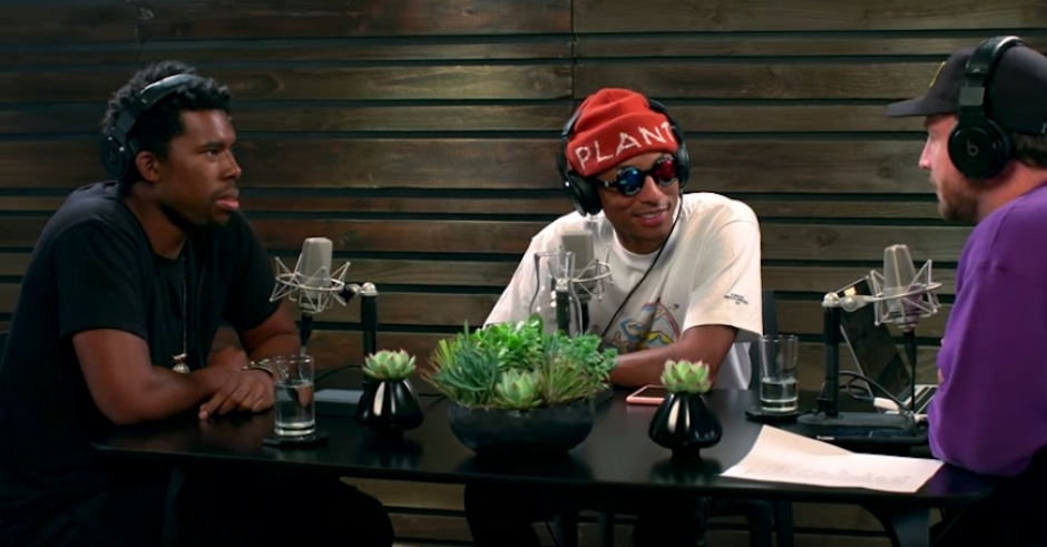 Flying Lotus and Pharrell discussing the state of hip hop is fascinating viewing