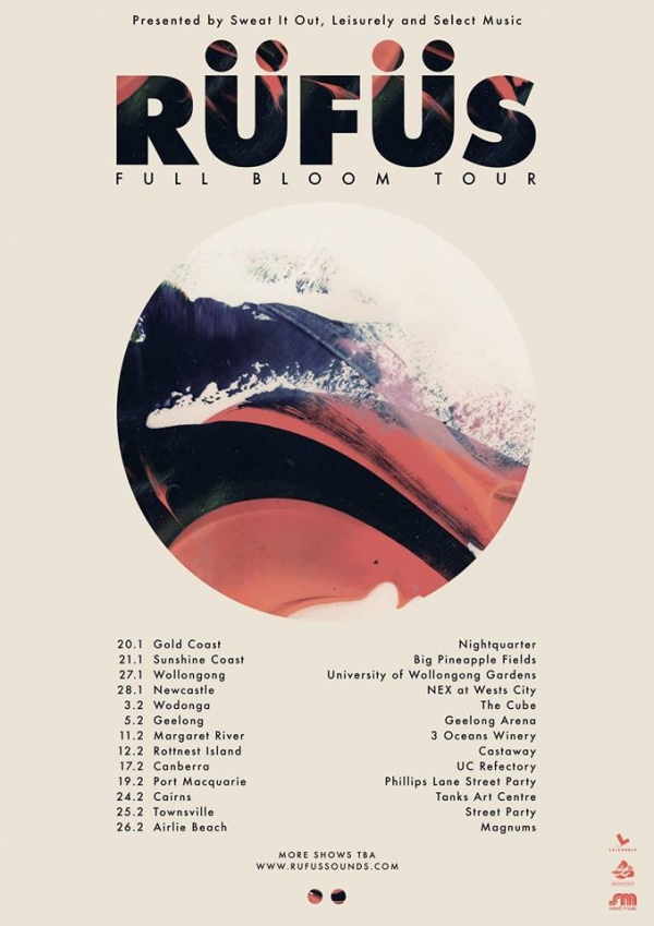 rufus aus tour new