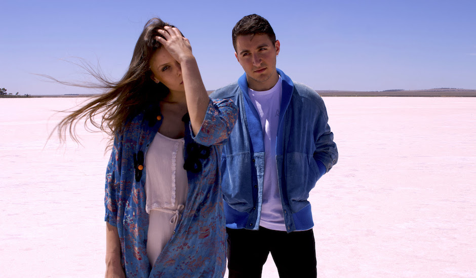 Meet China Roses, an electronic pop/rap duo from Adelaide making sweet tunes