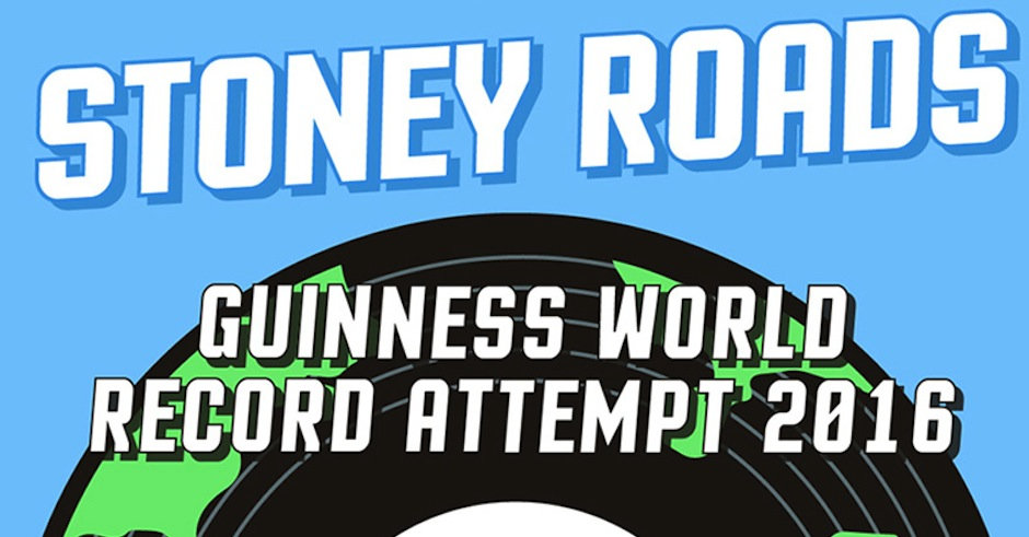 Stoney Roads want to crack a Guinness World Record